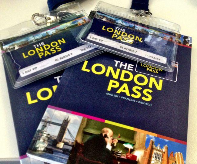 London-Pass tarjeta